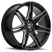 Motiv Wheels<br /> 414 BM Modena Gloss Black Finish