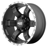 MOTO METAL Wheels <br />MO967 Satin Black w/ Machined Flange