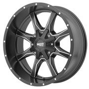 MOTO METAL Wheels <br />MO970 Satin Black w/ Milled Spokes