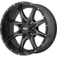 Moto Metal Wheels <br>MO970 Satin Black w/ Milled Spokes