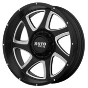 MOTO METAL Wheels <br />MO976 Satin Black w/ Milled Accent