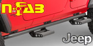 N-Fab <br>Rock Rails Jeep