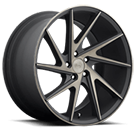 Niche Wheels Invert M163 <br />Black Machined