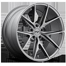 Niche Wheels Misano M116 <br />Gun Metal