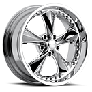 Foose Wheels <br> F117 Nitrous Chrome