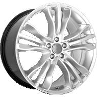 OE Performance 142H Hyper Silver Wheels