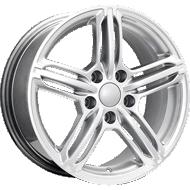 OE Performance 145H Hyper Silver Wheels