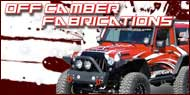 Off Camber Fabrication <br>Jeep Accessory Mounts