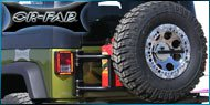OR-FAB Jeep Swing-Away Tire <br>and Tire/Can Carriers