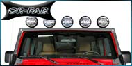 OR-FAB Jeep <br/> Windshield Mount Light Bar