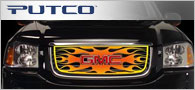 Putco Flaming Inferno <br / > 4-Color Grille Inserts