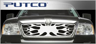 Putco Flaming Inferno <br / > Grille Inserts