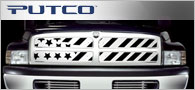Putco Patriot Stainless <br /> Steel Grille Inserts