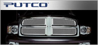 Putco Racer Stainless <br /> Steel Grille Inserts