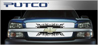 Putco SuperNova Stainless <br /> Steel Grille Inserts