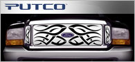 Putco Tribe Stainless <br /> Steel Grille Inserts