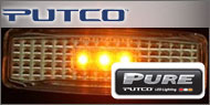 Putco Clear Fender<br /> Marker Lights