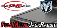 Pace Edwards Full-Metal JackRabbit Tonneau Covers for Dodge