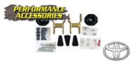 Performance Accessories<br />Coil Spring & Shacle Lift (6-LUG)<br /> 1996-2004 Toyota Tacoma