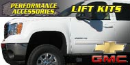 Chevrolet GMC Lift Kits