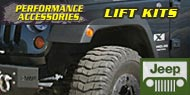 Performance Accessories Body Lift Kits for Jeep
