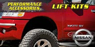 Performance Accessories Nissan Lift Kits