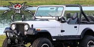 Poison Spyder BFH Front Bumpers <br>1976-1986 Jeep CJ