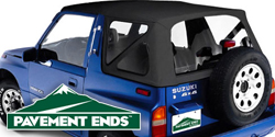 Pavement Ends Replay Soft Tops <br>Geo Tracker/Suzuki Sidekick