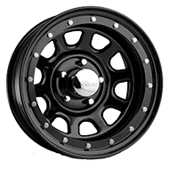 Pacer Wheels <br />252B Street Lock Black