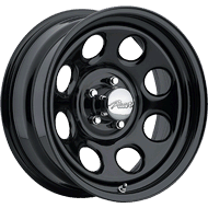 Pacer Wheels <br />297B Soft 8 Black