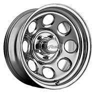 Pacer Wheels <br />298C Soft 8 Chrome