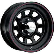 Pacer Wheels <br />342B Daytona Black