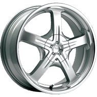 Pacer Wheels <br />774MS Reliant Titanium Silver