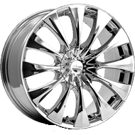 Pacer Wheels <br />776C Silhouette Chrome