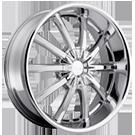 Pacer Wheels <br />782C Blitz FWD Chrome