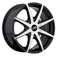 Pacer Wheels <br />784MB Rebel Gloss Black