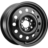Pacer Wheels <br />83B FWD Mod Black