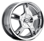 Platinum Wheels<br /> 210 Tracker Chrome