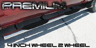 Premium 4 Inch<br /> Wheel-to-Wheel Nerf Bars