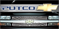 Putco Liquid Spider Web <br /> Grille Inserts for Chevy