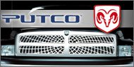 Putco Liquid Spider Web <br /> Grille Inserts for Dodge