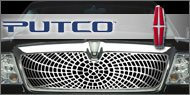 Putco Liquid Spider Web <br /> Grille Inserts for Lincoln