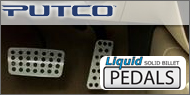 Putco Liquid Solid<br> Billet Pedals