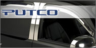 Putco Element Chrome<br/> Window Visors (Set of 4)