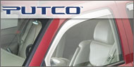 Putco Element Chrome<br/> Window Visors