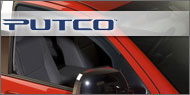 Putco Element Tinted <br />Window Visors (Front Only)