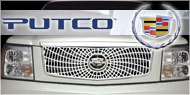 Putco Liquid Spider Web <br /> Grille Inserts for Cadillac
