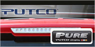 Putco Clear LED Third <br />Brake Lights (Replacement)