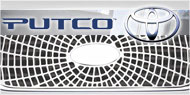 Putco Liquid Spider Web <br /> Grille Inserts for Toyota