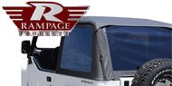 Rampage Trail Soft Top Kit Frameless <br > 92-95 Jeep YJ